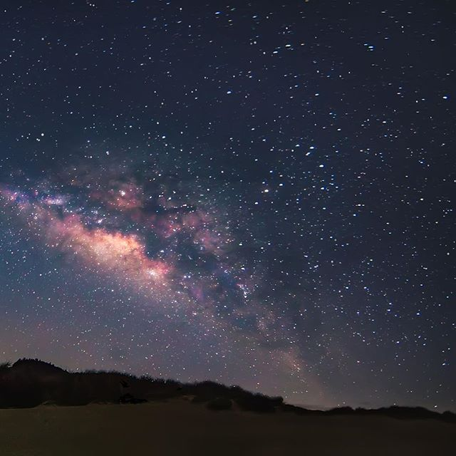 Five shot panorama of the Milky Way!