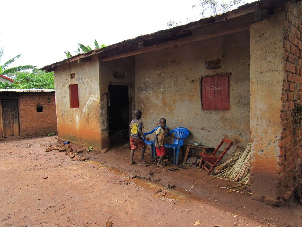 Kamuli Subsistence Farmer's Home