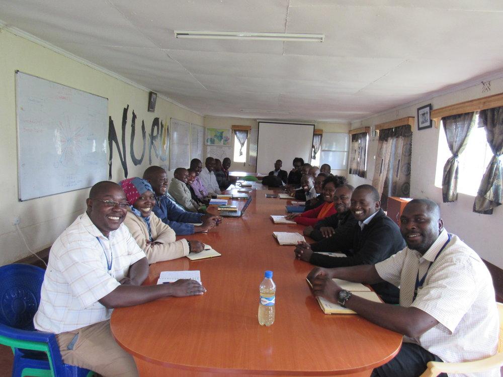 NURU's Kenyan staff