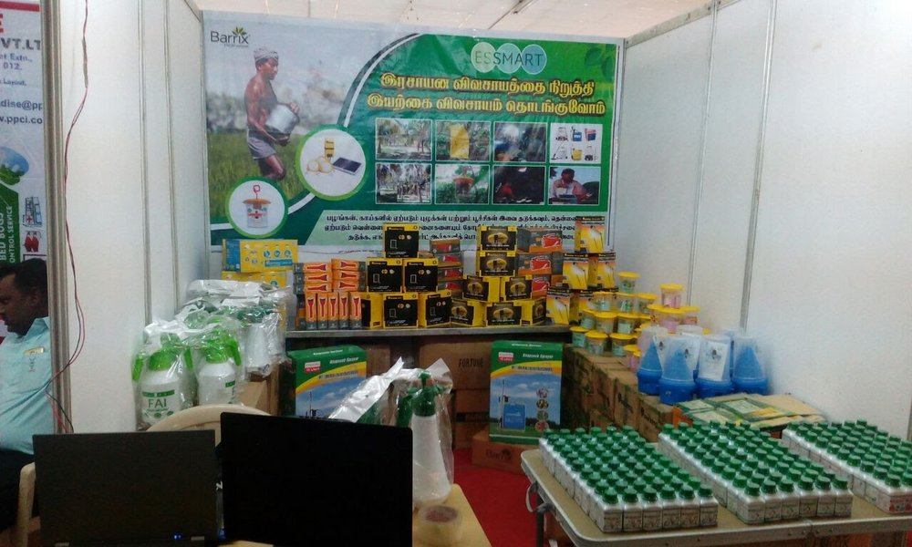 Essmart participating in small agricultural fairs.jpg