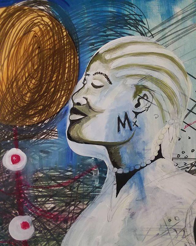 New work in progress (detail) #art #artist #painting #artgallery #artgallery #artcollectors #artcollector #mixedmediaart #mixedmedia #colorful #contemporaryart #contemporaryartist #houstonart #houstonartist #africanartist #africanart #artmuseum #creative #create #instagram instagramart