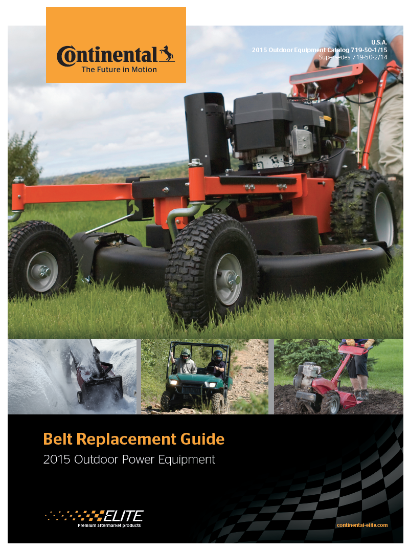 2015 Outdoor Power Equipment (Lawn & Garden)