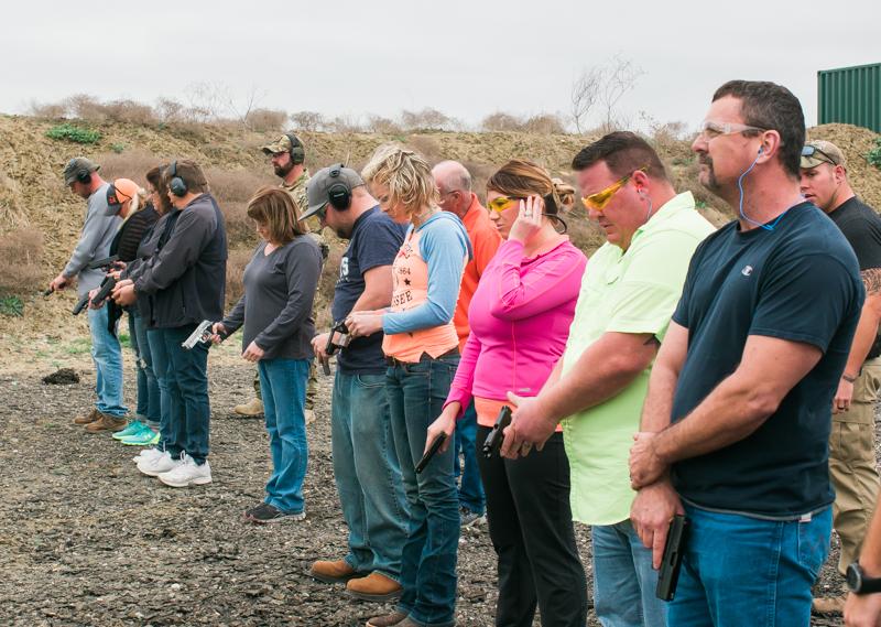 LTC Class at ETTS GUN RANGE