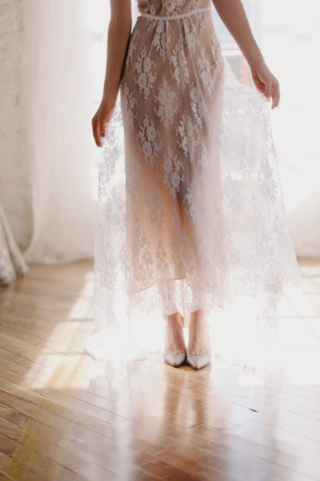fashion forward wedding dress