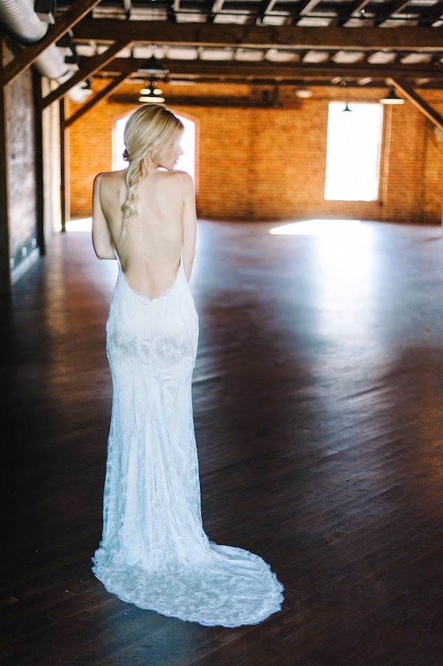 Accessorizing Your Backless or Low Back Wedding Dress — The Dress Theory