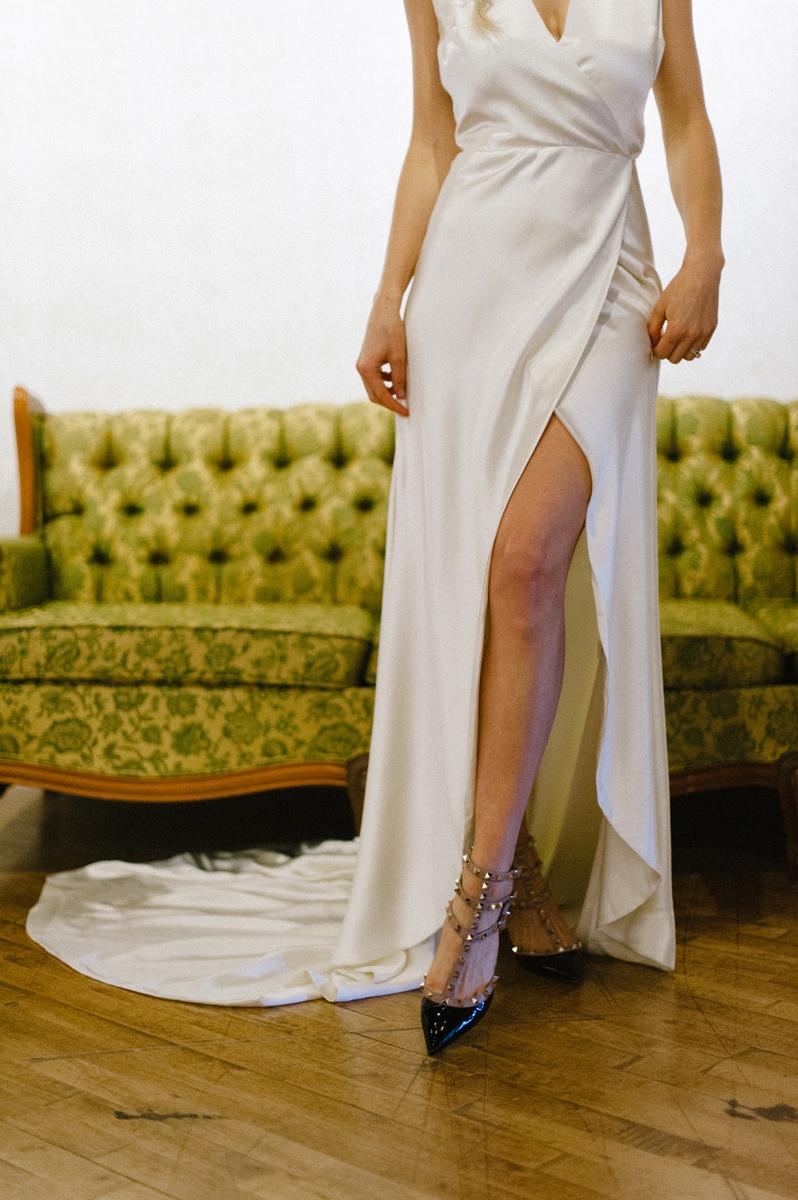 valentino rockstud wedding heels