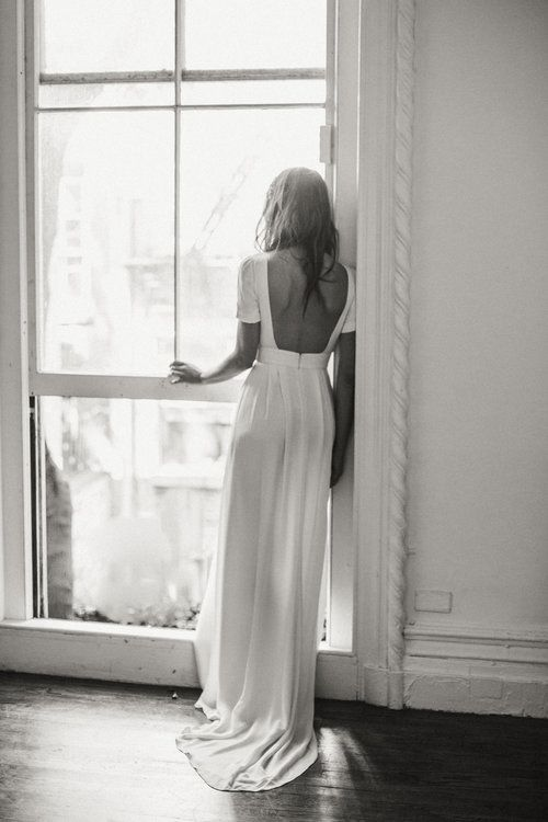 nashville minimal wedding dress
