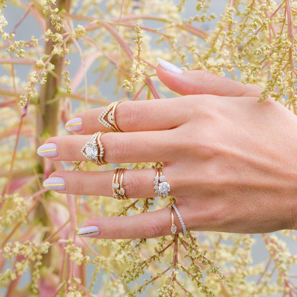Marrow Fine rings Via Gemhunt