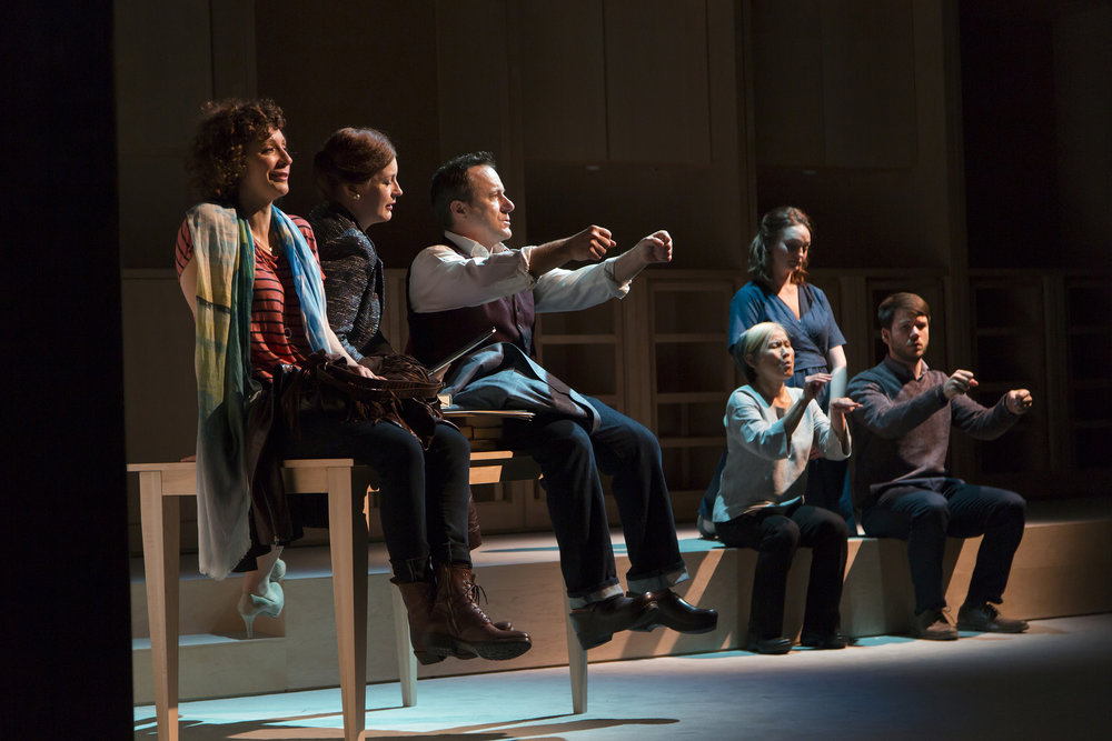I WAS MOST ALIVE WITH YOU by Craig Lucas, Photo by T. Charles Erickson/Huntington Theatre Company