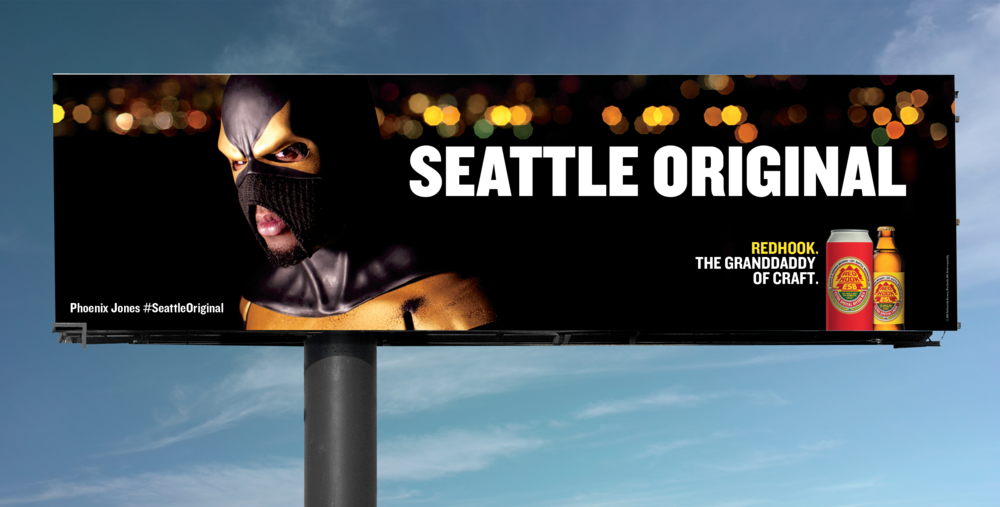 Phoenix Jones Billboard