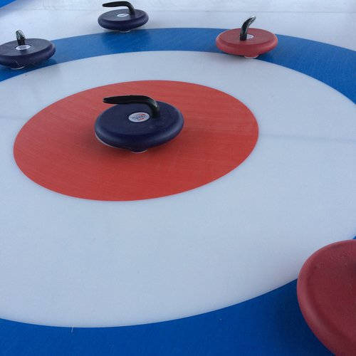 Curling on St. Patrick's Island