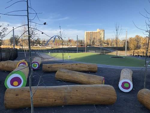 EV's Urban Dog Park Opens