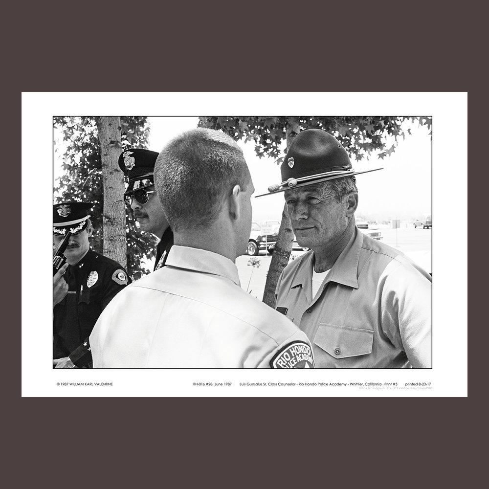 RH-016 #28  June 1987 Rio Hondo Police Academy
