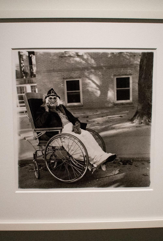 Diane Arbus - Masked Woman PA 1970