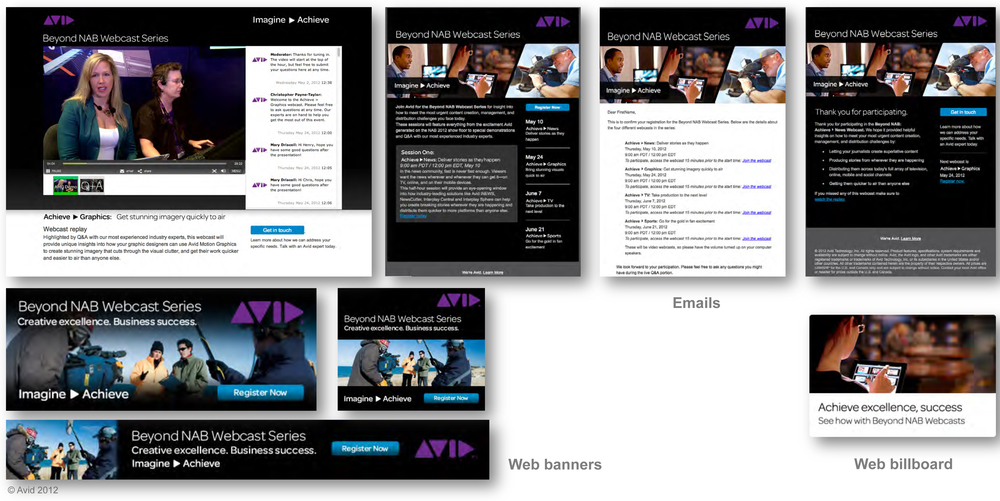 Avid Webcasts
