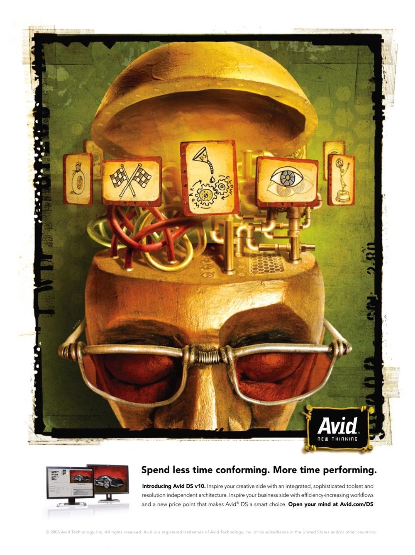 Avid Re-branding Campaign