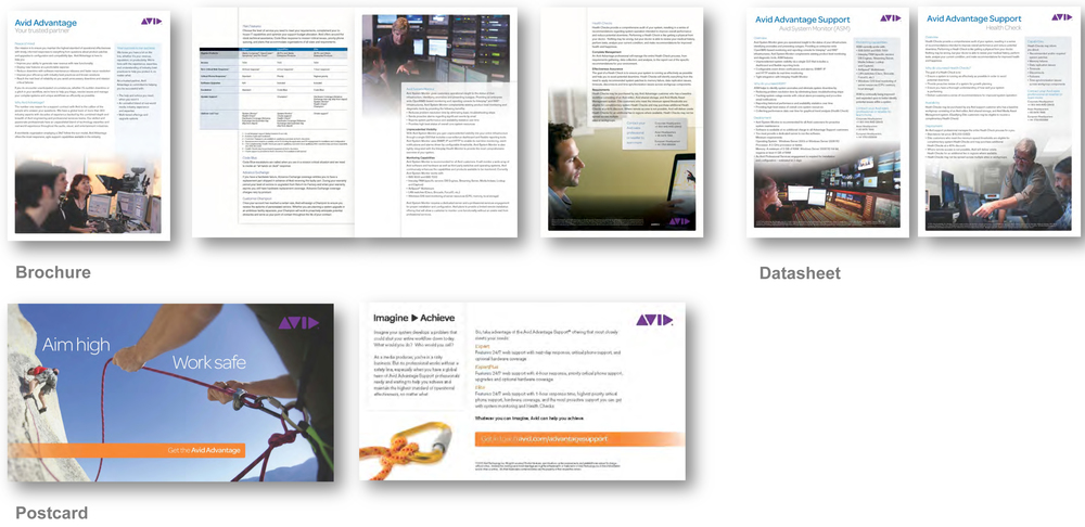 Avid Customer Support Materials