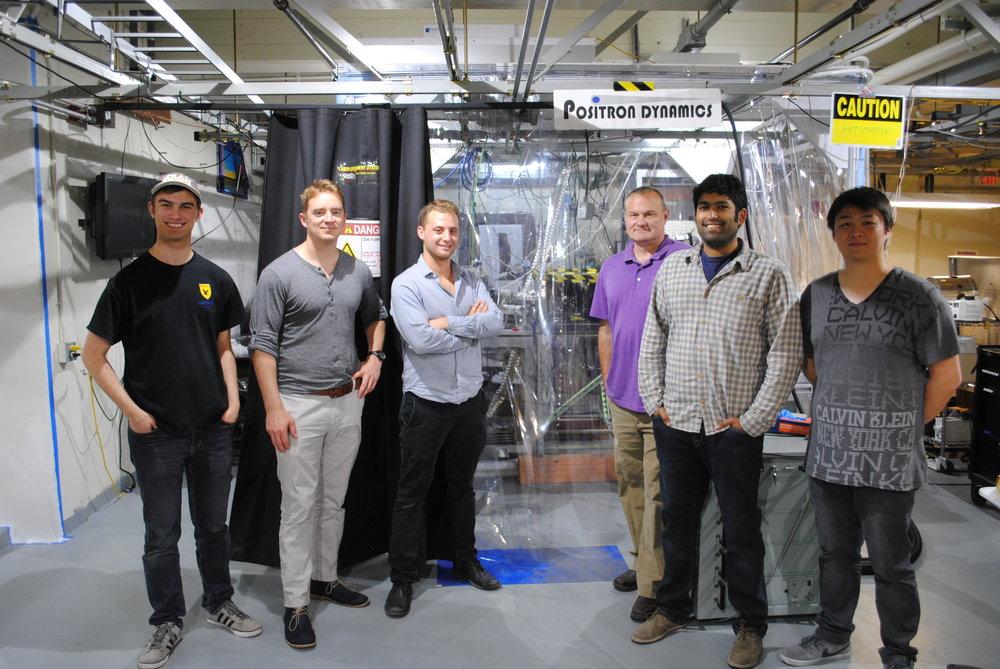 Antimatter Propulsion Startup Positron Dynamics