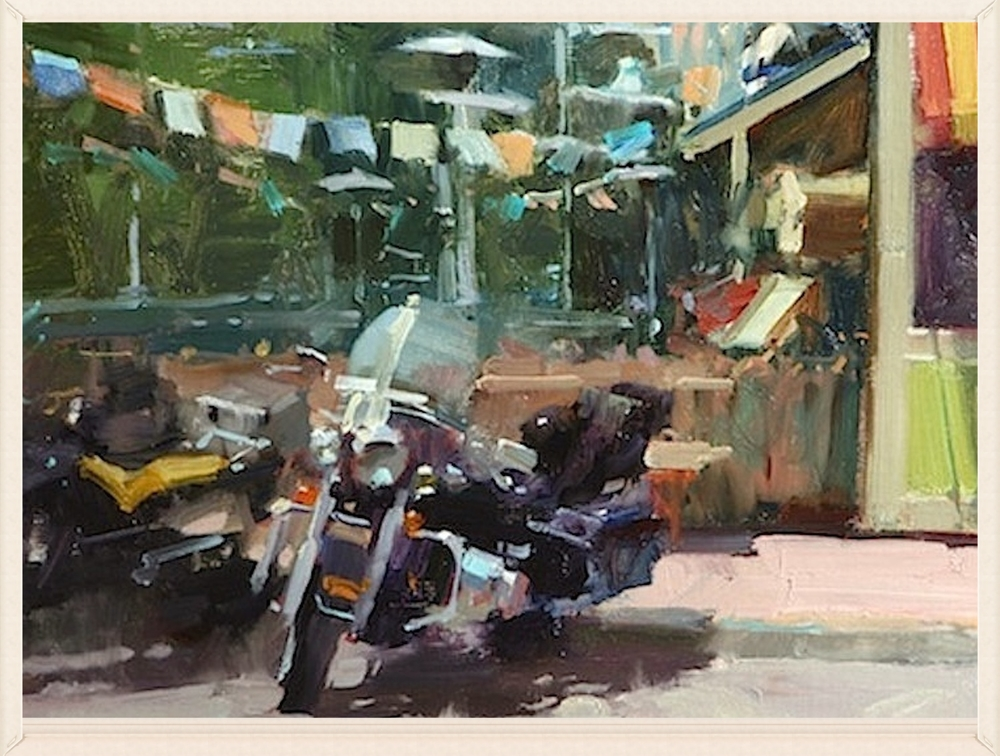 Peacehogs, 16 x 20, Oil