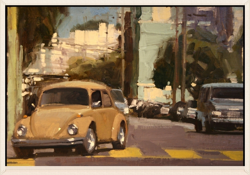 16th and Dolores, 16 x 20, Oil