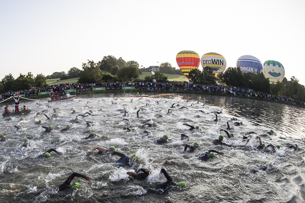 An inside look at the challenging Challenge Roth ironman distance course in Germany.