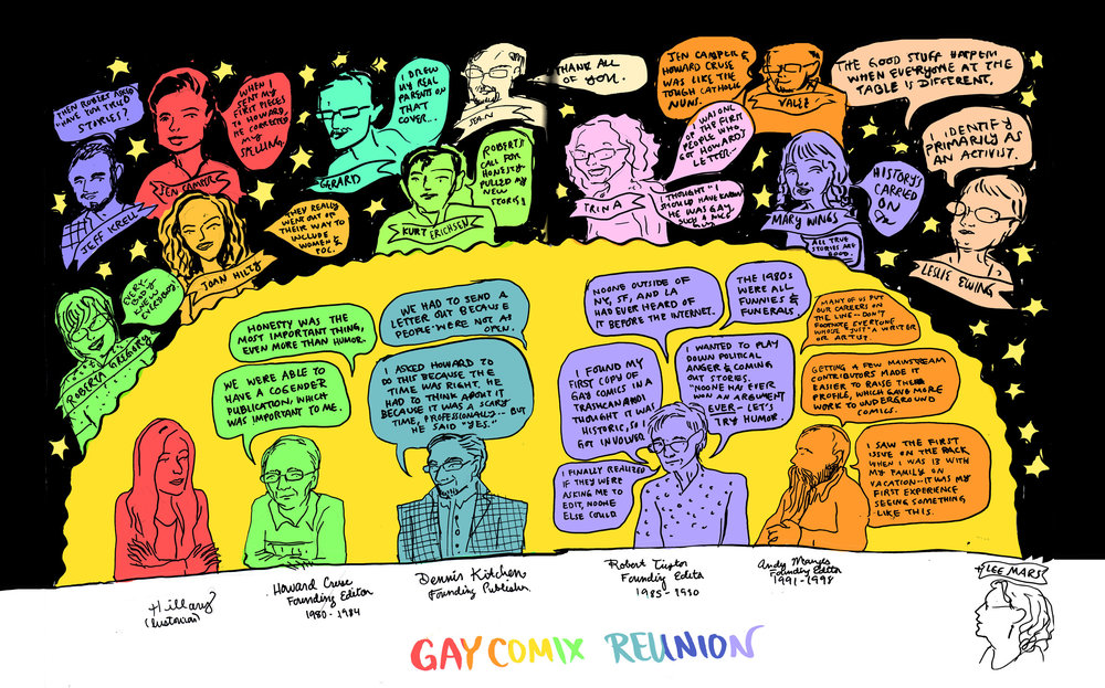 Gay Comix Reunion