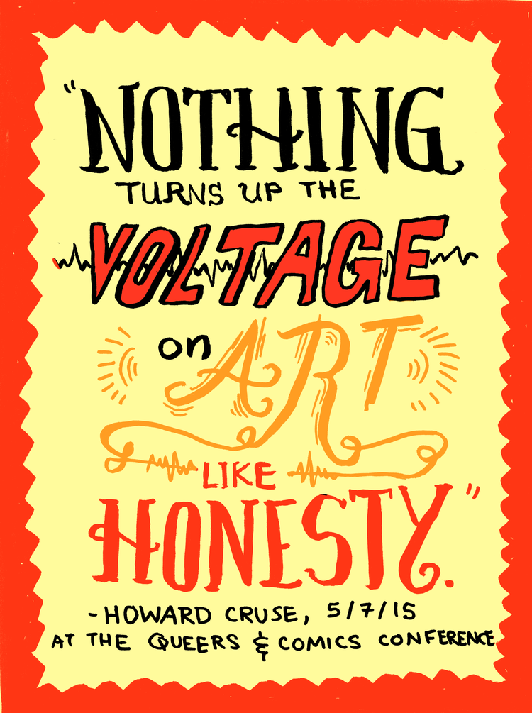 Howard Cruse quote