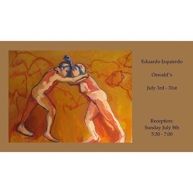 Artist reception this evening, 5:30-7! #santacruzartists