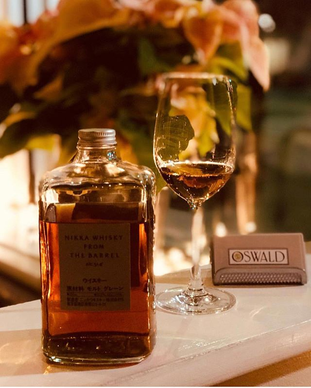 Happy Holidays! Stop in and try some Nikka while it lasts #oswald