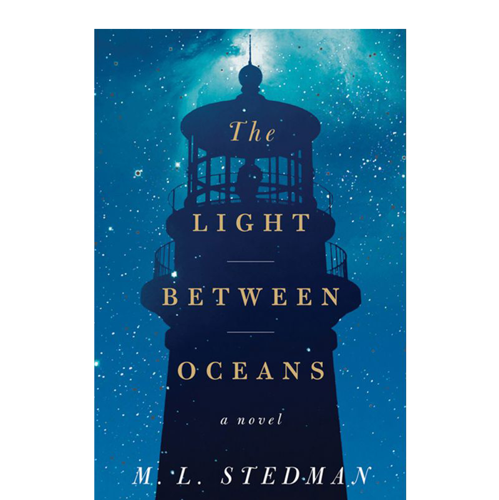 The Light Between Oceans  M.L. Stedman  Set in 1918 Australia, this novel tells the story of an isolated lighthouse keeper and his wife who make a devastating choice that forever changes two worlds. When faced with life-altering decisions—how do you choose?