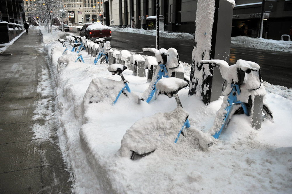 Chicago's Divvy Bike. (Photo courtesy of the Chicago Sun Times)