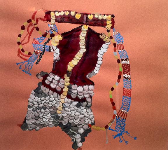 Bedouin Headdress, Dr. Gabrielle Francis