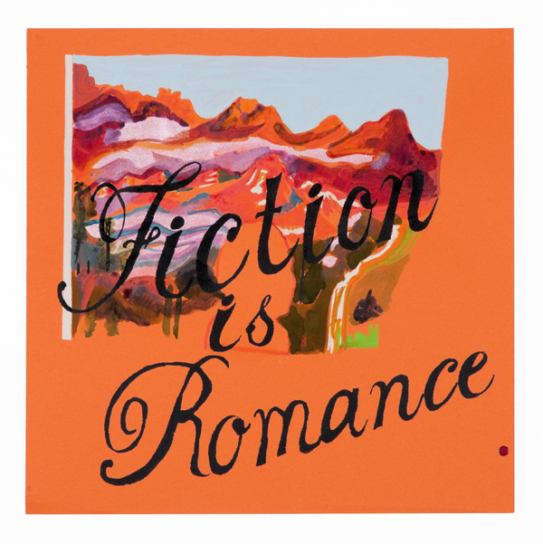 Fiction with 19th century mountains on Orange