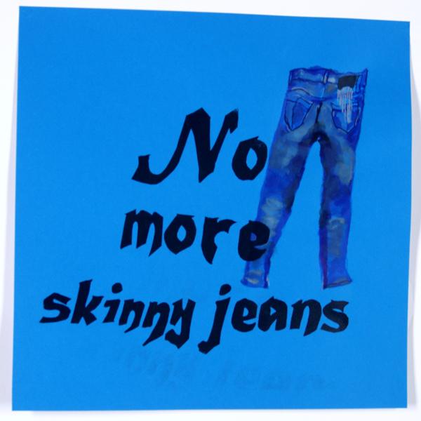 Skinny on Blue