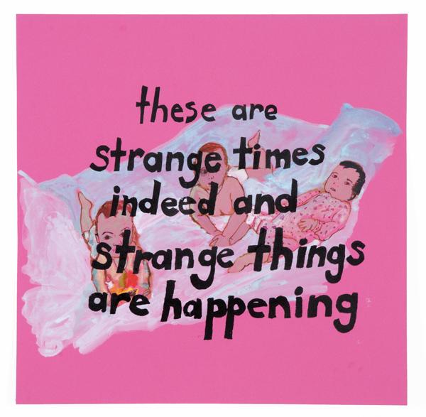 Strange triplets on Pink