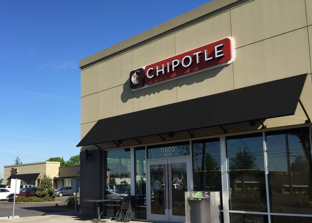Chipotle store front