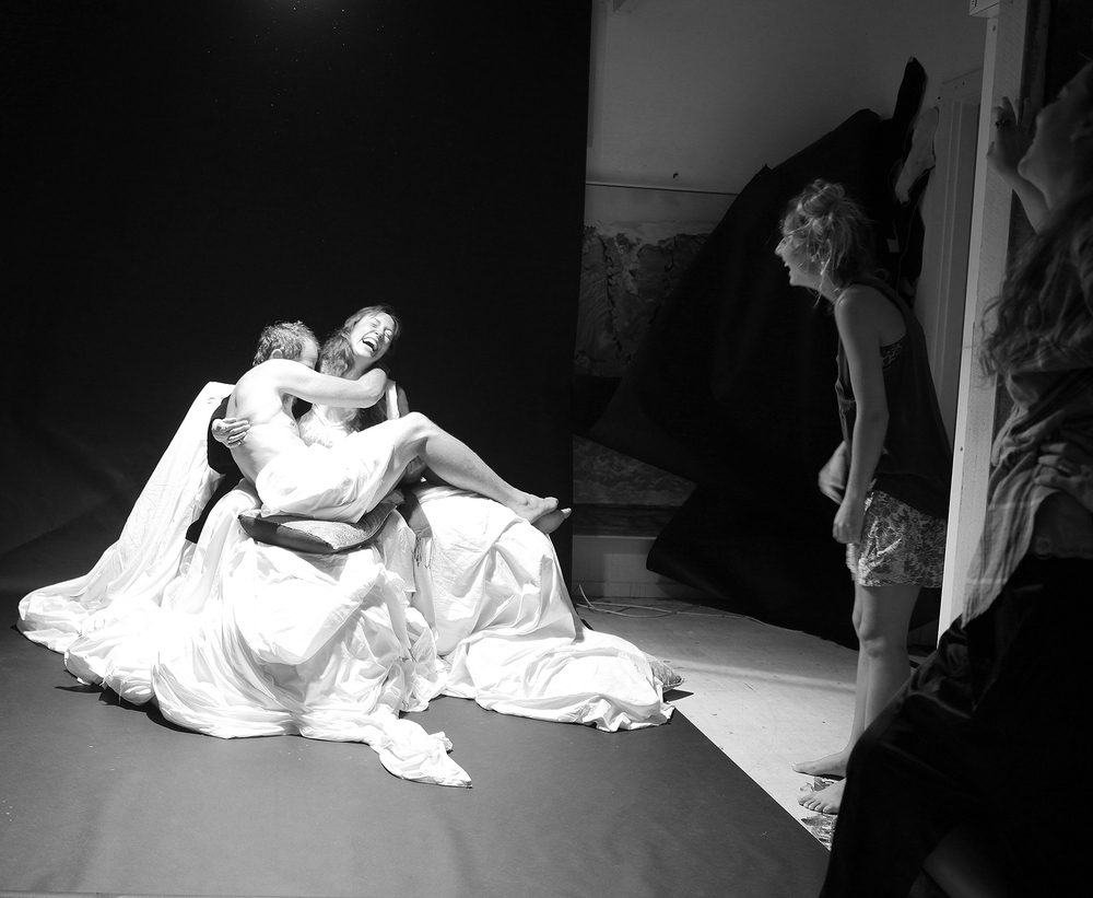 studio image:  pieta  photo shoot for  DELUGE