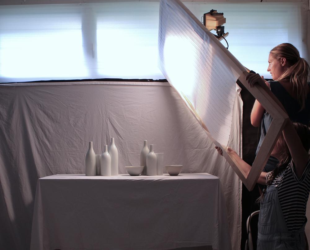 studio image: photoshoot for Ray of Light