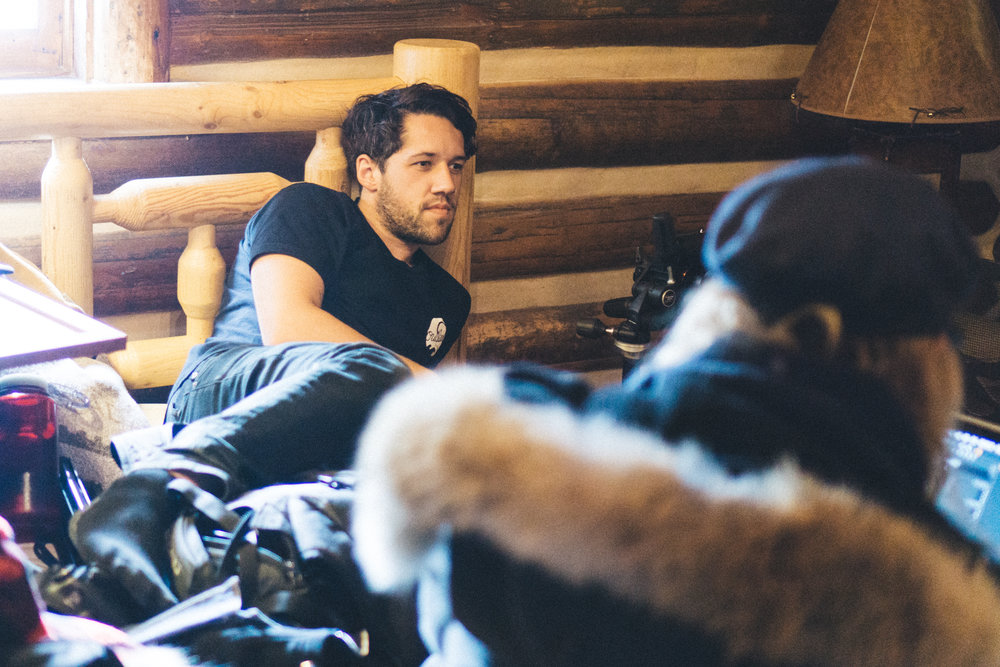 I like to think I'm pretty relaxed on set. Photo: Braeden VanRooy
