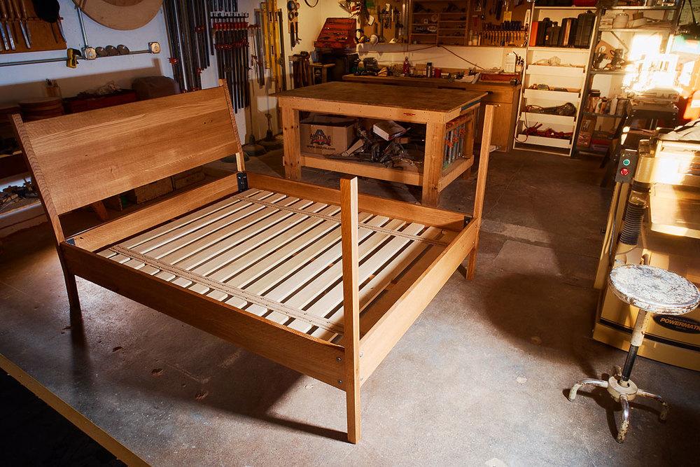 White Oak Bed Frame