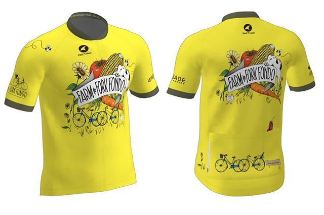 Introducing the 2019 Farm to Fork Fondo Jersey & Artist Collection! A brand new set of merchandise designed by a world-class artist to commemorate your experience. Design by @sdionbakerdesign  Jersey by @pactimo_official ⁣and @pactimocustom  Check out all the merchandise items at farmtoforkfondo.com/store ⁣⠀ Link in bio