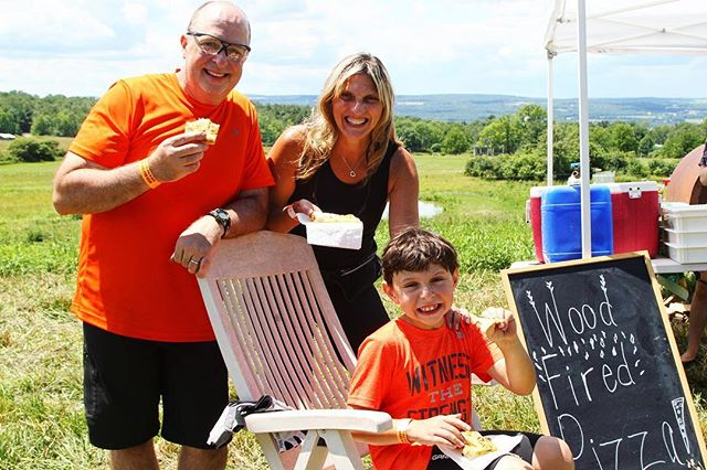 Bring the kids to Farm to Fork Fondo 2019. A great option is the family friendly Ramble Ride that is about 10 mile, and includes one deluxe aid station at a working farms with a small bite from the farm. The same beautiful, well-marked, and well-supported ride the participants going the further distances get. ⠀ Register today at: FarmToForkFondo.com