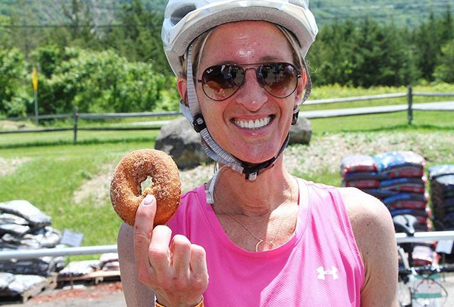 You donut want to miss this foodie bike ride!⠀ Farm to Fork Fondo has been described as a party on wheels, where the guests are a unique mix of accomplished cyclists and novice riders, and everyone enjoys aid stations featuring chef-prepared treats made from each farm's ingredients.⠀ ⠀ Learn more at farmforkfondo.com