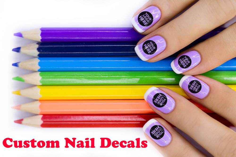 Custom Nail Decals