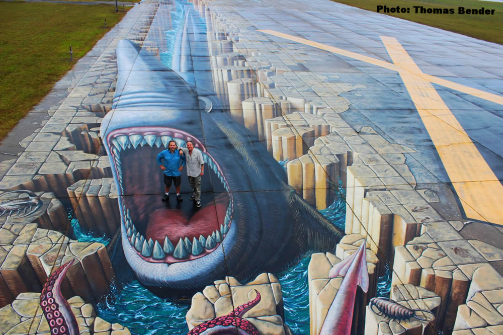 Venice Municipal Airport. The World's most shark-infested runway. SEAN PAXTON (LEFT), BROOKS PAXTON. PHOTO: THOMAS BENDER.