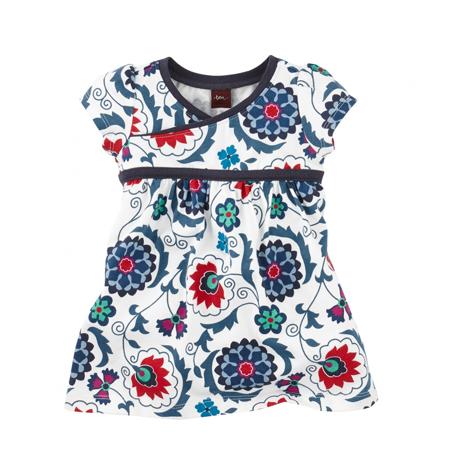 Suzani tea collection dress baby girl