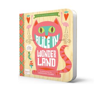 alice in wonderland babylit book