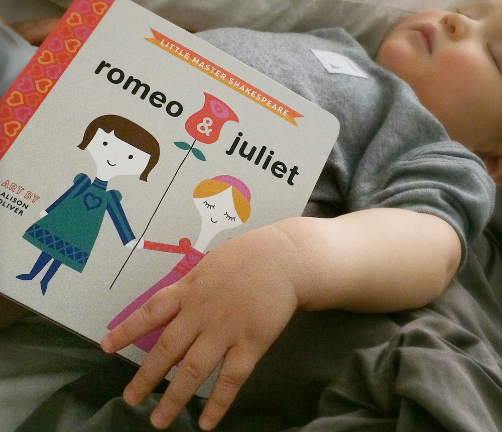 Romeo and Juliet babylit book