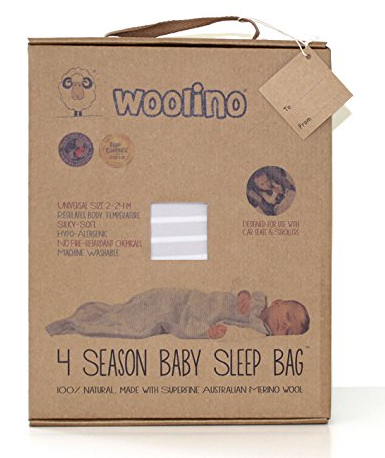 woolino sleep sack 4 season baby sleep bag