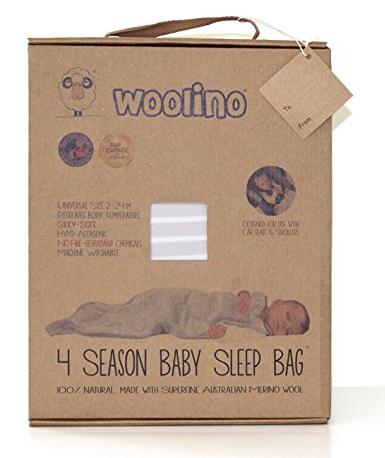 woolino sleep sack 4 season baby sleep bag